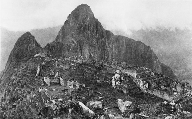 Ruins of Machu Picchu in 1911