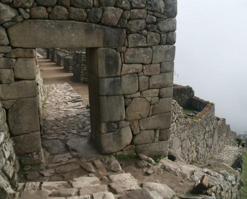 Haupteingang Machu Picchu