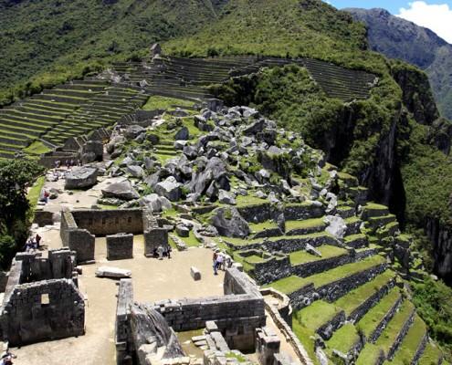 Der Heilige Platz von Machu Picchu