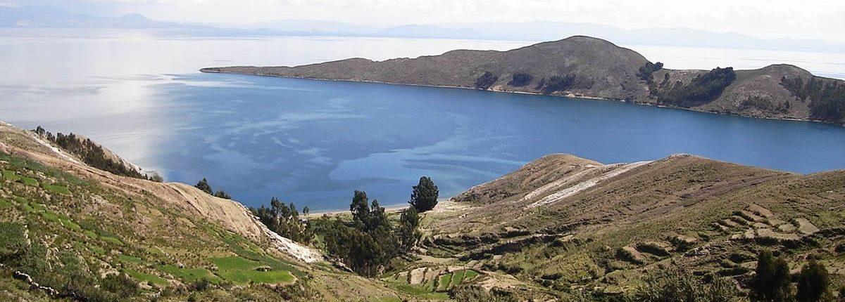 Isla en el lago Titicaca