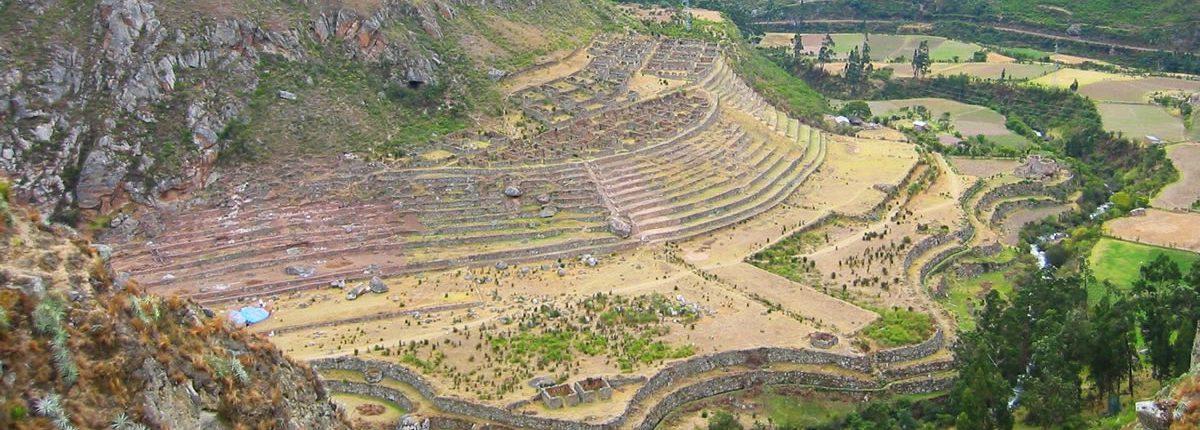 Llactapata camino inca Peru