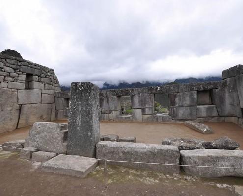 Der Tempel der drei Fenster in Machu Picchu