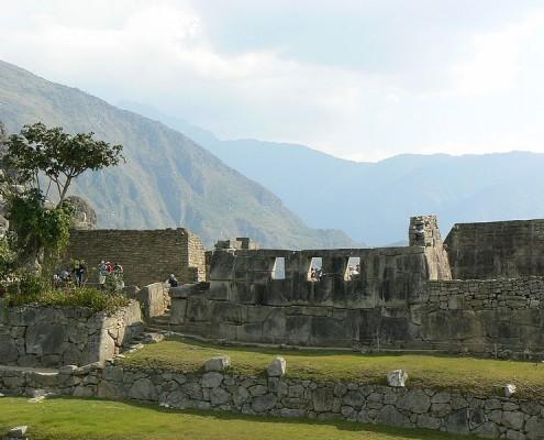Rituelle Handlungen Machu Picchu
