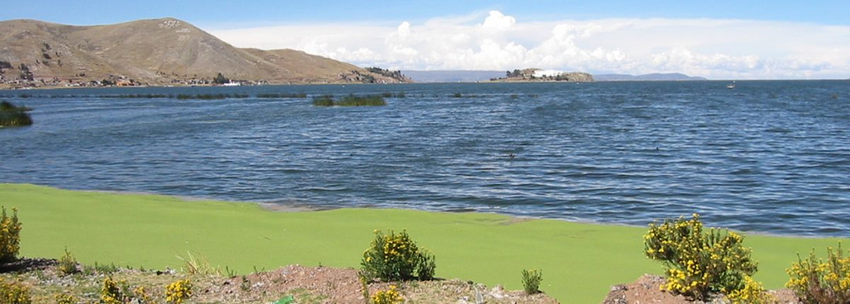 Lago Titicaca cerca de Puno