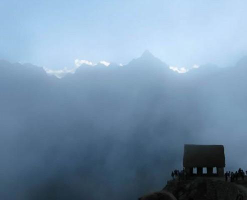 Guardhouse on the Machu Picchu