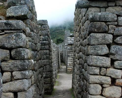Residential houses Machu Picchu