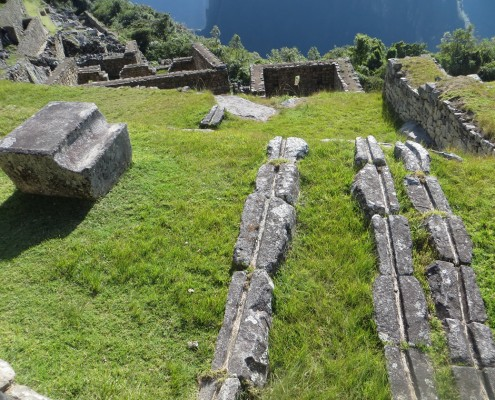 The perfect water inflow system to Machu Picchu