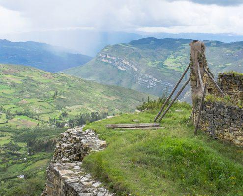 Vista desde Kuelap Chachapoyas