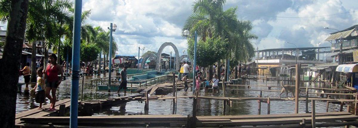 Hafen Iquitos