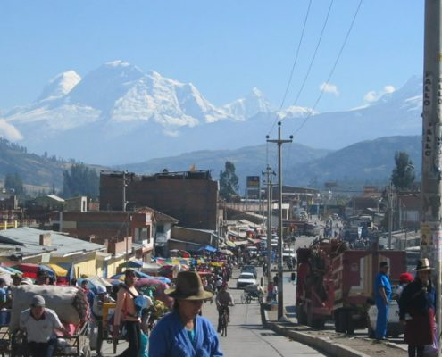 Huaraz – the gateway to the peaks of the Cordillera Blanca