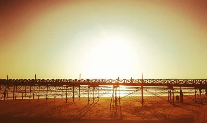 Sonnenuntergang Strand Pimentel Chiclayo