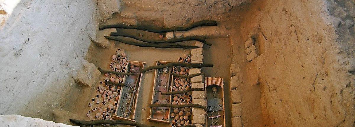 Tomb of El Sacerdote Sipan Peru