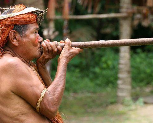 Yahua Blowgun Amazon Iquitos Peru