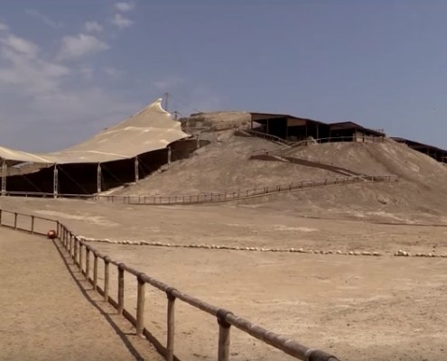 The pyramids of El Brujo and the Señora de Cao