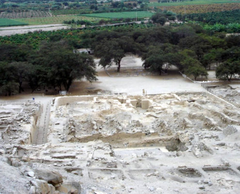 The Sechin complex – who thought the Egyptian pyramids were old?