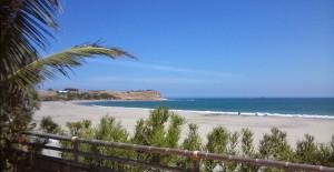 Peru Los organos beach