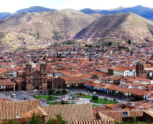 "Cusco – the ""middle of the world"" in the Andes"
