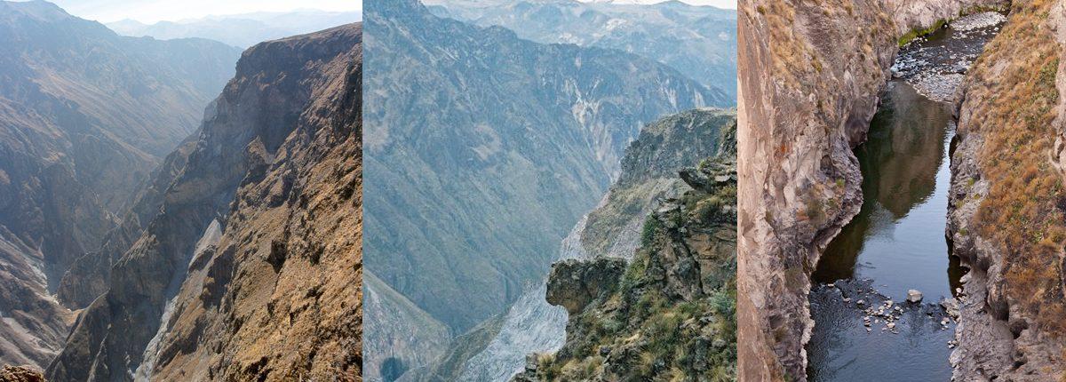 Einblicke in den Colca Canon