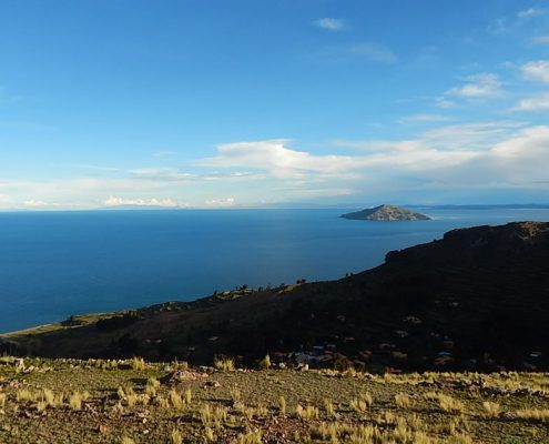Amantani Insel