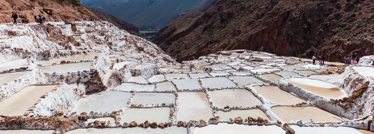 Las salinas de Maras - La punta (sostenible) de información privilegiada en el Valle Sagrado de los Incas