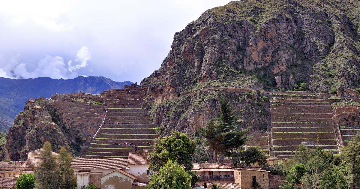 Ollantaytambo - Panorama