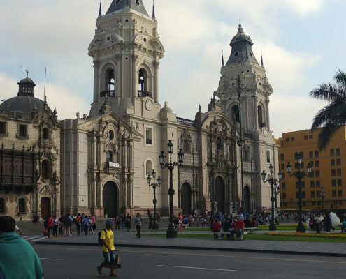 The Cathedral of Lima: testimony to the Spanish colonization of Peru
