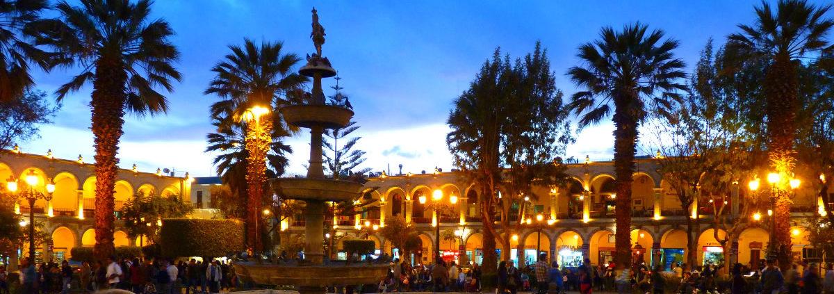 "Arequipa – the ""White City"" in Peru"