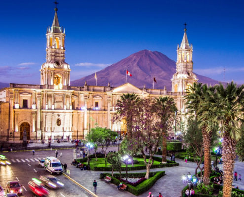 "Arequipa - the ""White City"""