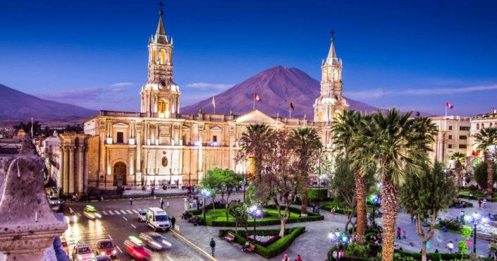 """Arequipa - the """"White City"""""""