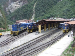 Aguas Calientes Station (Fotograf: Hugh Llewelyn)