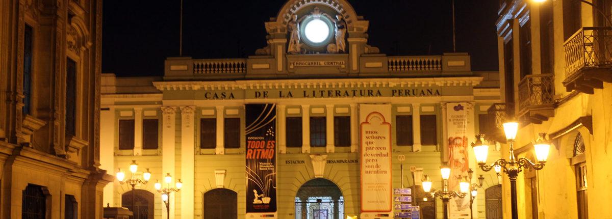 Casa de la literatura peruana - Centro Literario y Cultural de Lima
