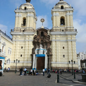 Iglesia San Francisco in Lima