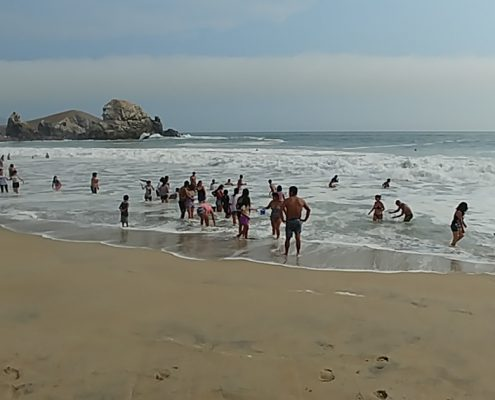 Punta Negra – surfing, swimming, high waves and beaches