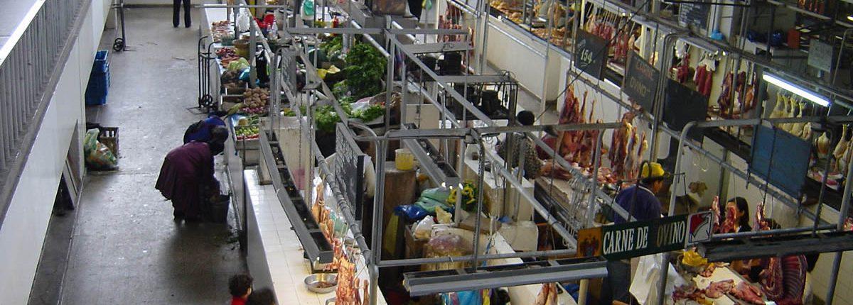 Mercado Central in der Innenstadt