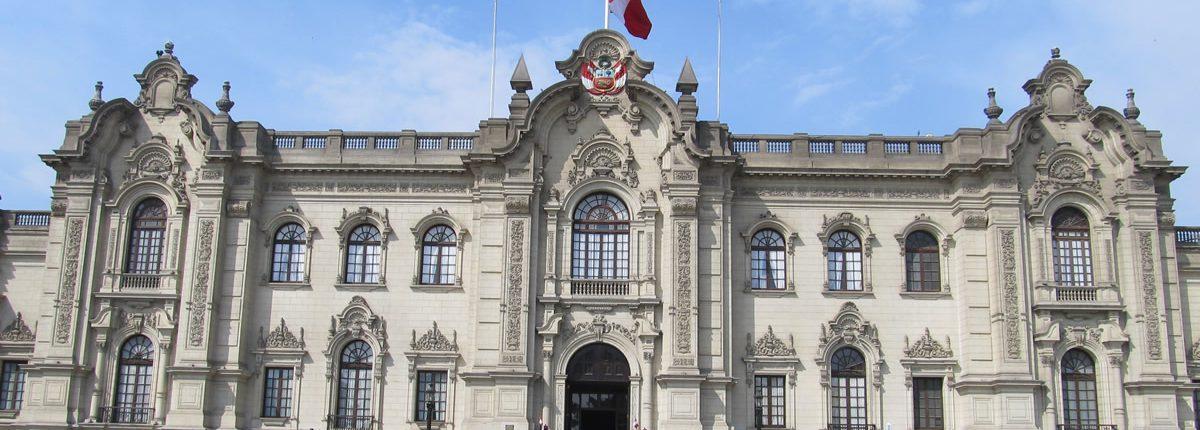 Palacio de Gobierno del Perú Palacio del Castillo