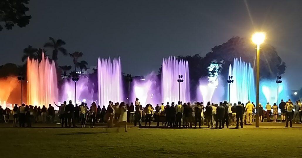 Bilder Circuito Magico del Aqua im Parque de la Reserva