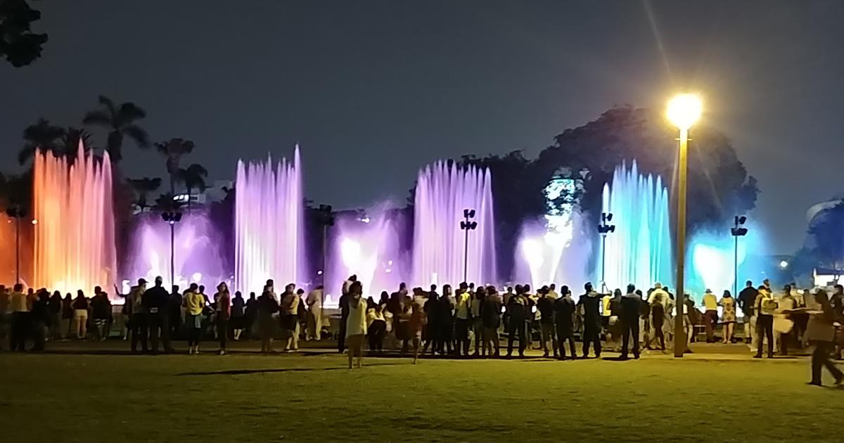 Resultado de imagen de Circuito mágico del agua y parque de la reserva