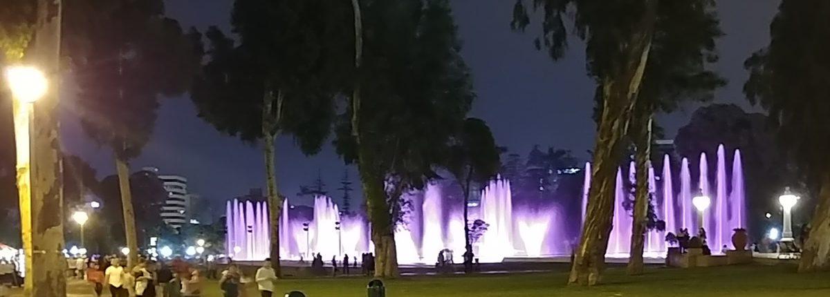 Parque de la Reserva - Circuito Magico del Agua