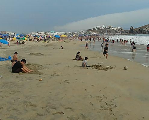 Punta Negra - surf, natación, olas altas y playas