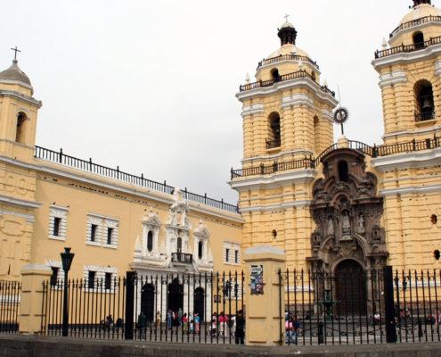 iglesia de san-francisco en Lima