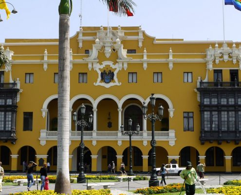 The Palacio Municipal in Lima