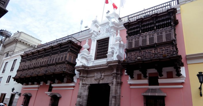 The Palacio Torre Tagle: one of the most representative building in Lima
