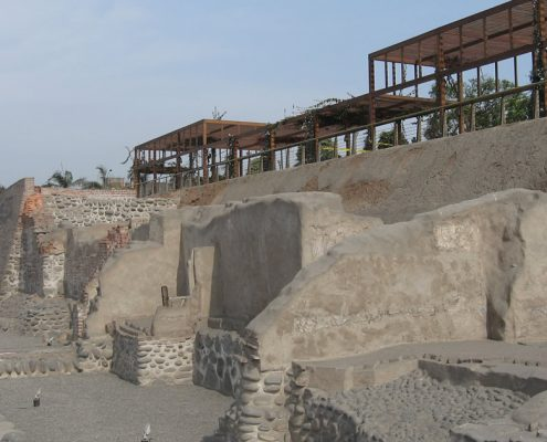 The Parque de la Muralla – resort and archeological site