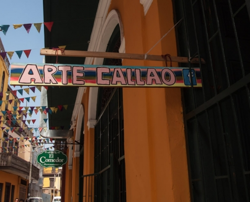 Kunst in der Hafenstadt - Callao Monumental