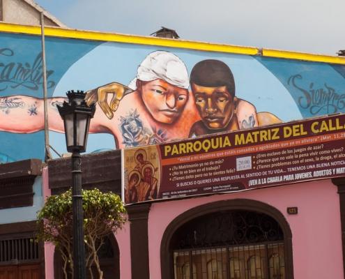 Art in the port city - Callao Monumental