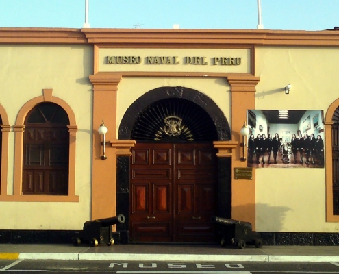 The Museo Naval del Perú in Callao