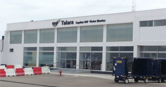 Talara Capitán Airport FAP Víctor Montes Arias