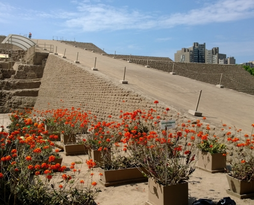 The Huaca Huallamarca in Lima