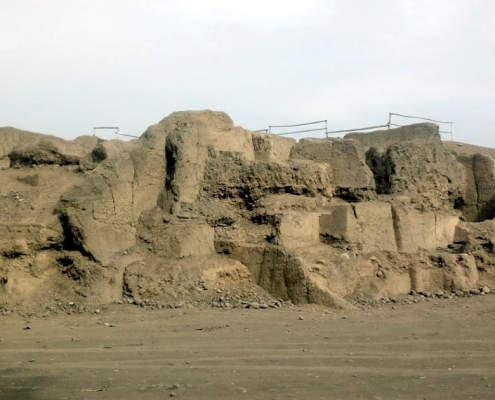 The Huaca Melgarejo in La Molina