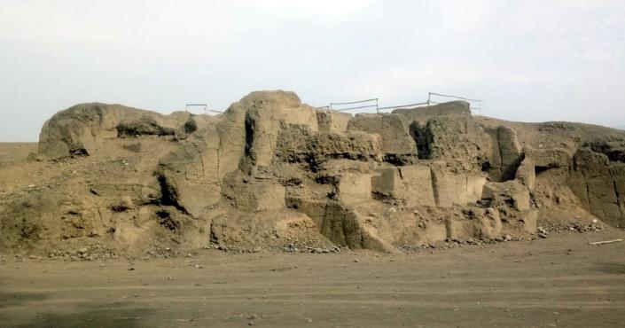The Huaca Melgarejo in La Molina
